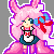 Pink Bunny Icon Preview by Kirin-XD4