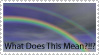 Double Rainbow Stampage by Regenie