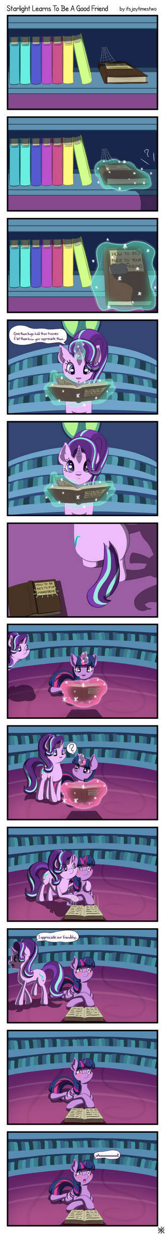 Starlight Learns to Be A Good Friend - Full Comic