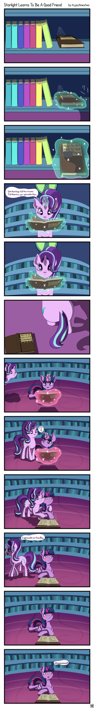 Starlight Learns to Be A Good Friend - Full Comic by itsjaytimestwo