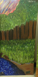 Dismal Swamp Mural by cailleyy