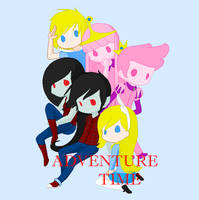Adventure Time by KhairiLoneliness