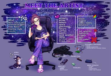 Meet the Artist - Harumeiji by Harumeiji