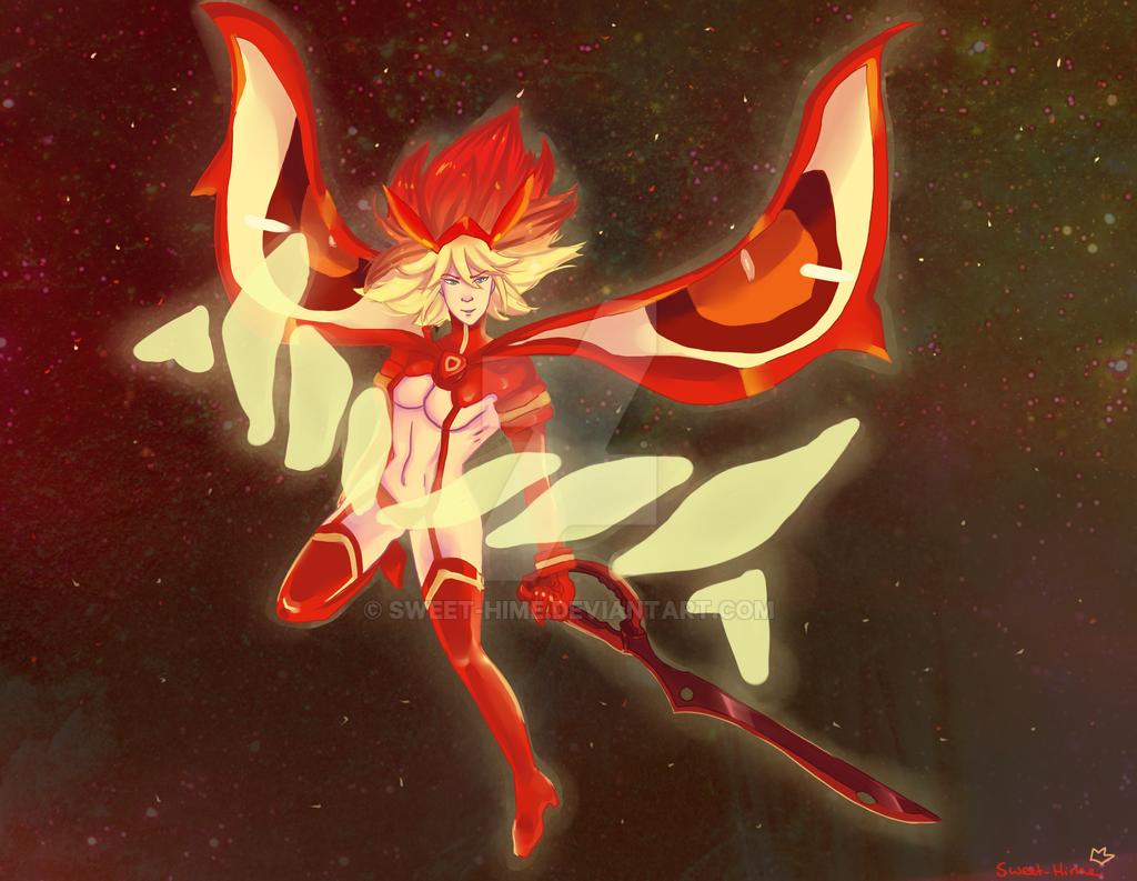 Final Form Ryuko by Sweet-Hime on DeviantArt