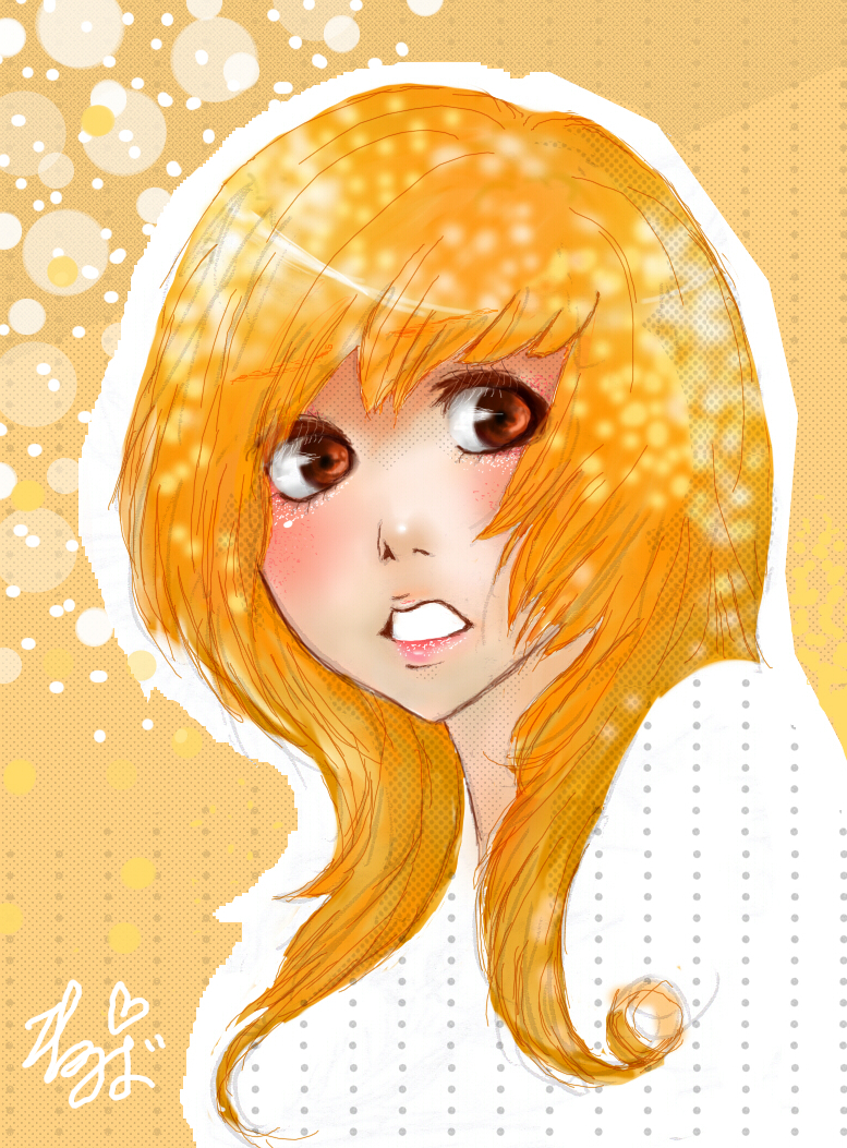orange by ninoluva