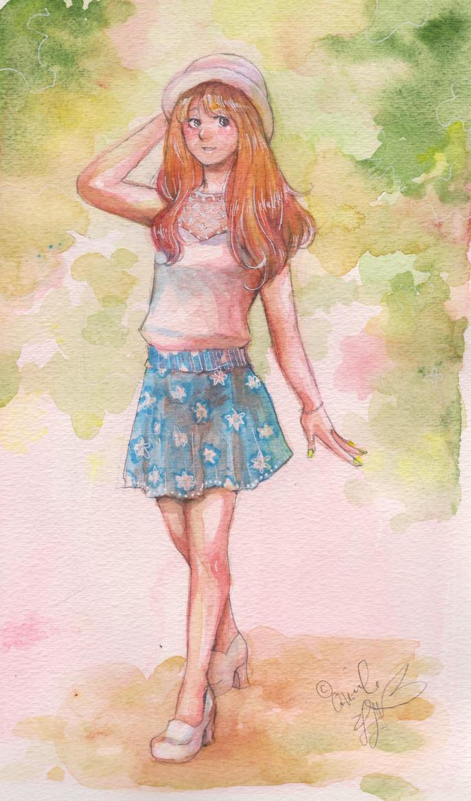 summer gal by ninoluva