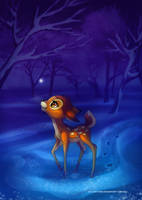 Bambi - First Snow by LilaCattis