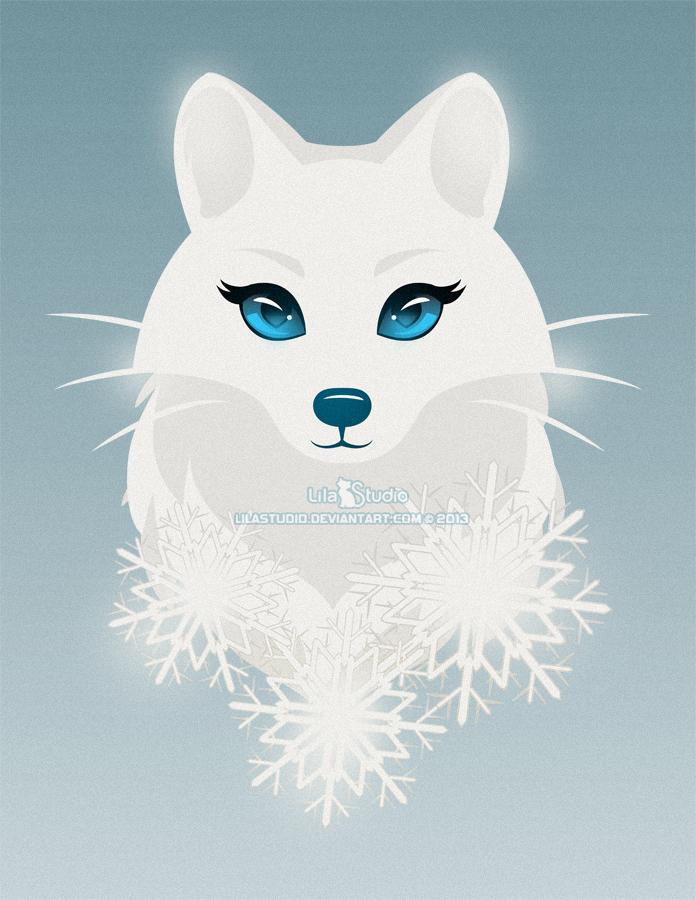 Arctic Fox Princess By Lilacattis On Deviantart