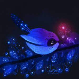 Blue Bird by LilaCattis