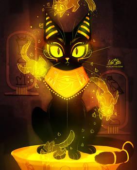 Bastet - the Goddess of Cats