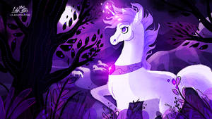 Forest of Unicorns by LilaCattis