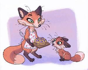 #Foxtober- Plum Pie