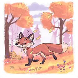 Foxtober- Nature Stroll