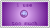 I Use :meow: Too Much [STAMP] by skele-sans