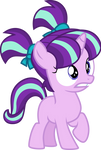 scared filly starlight glimmer [VECTOR]
