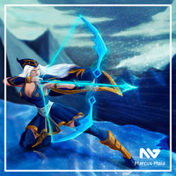 Ashe - League of legends by marcusagm