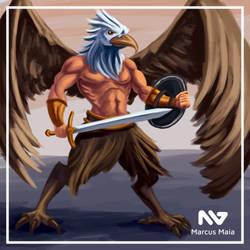 Eagle warrior by marcusagm