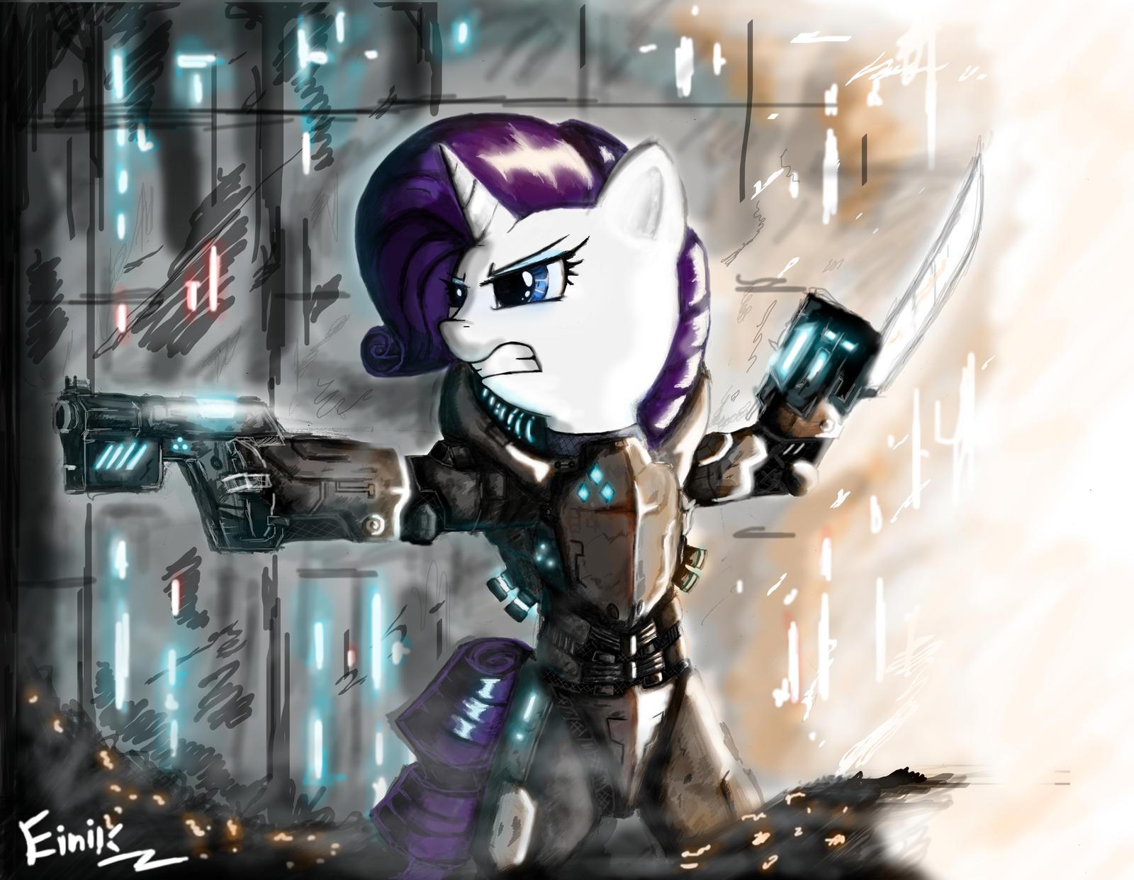 Rarity YAY! It is Sci-Fi I GUARANTEE IT by Einik