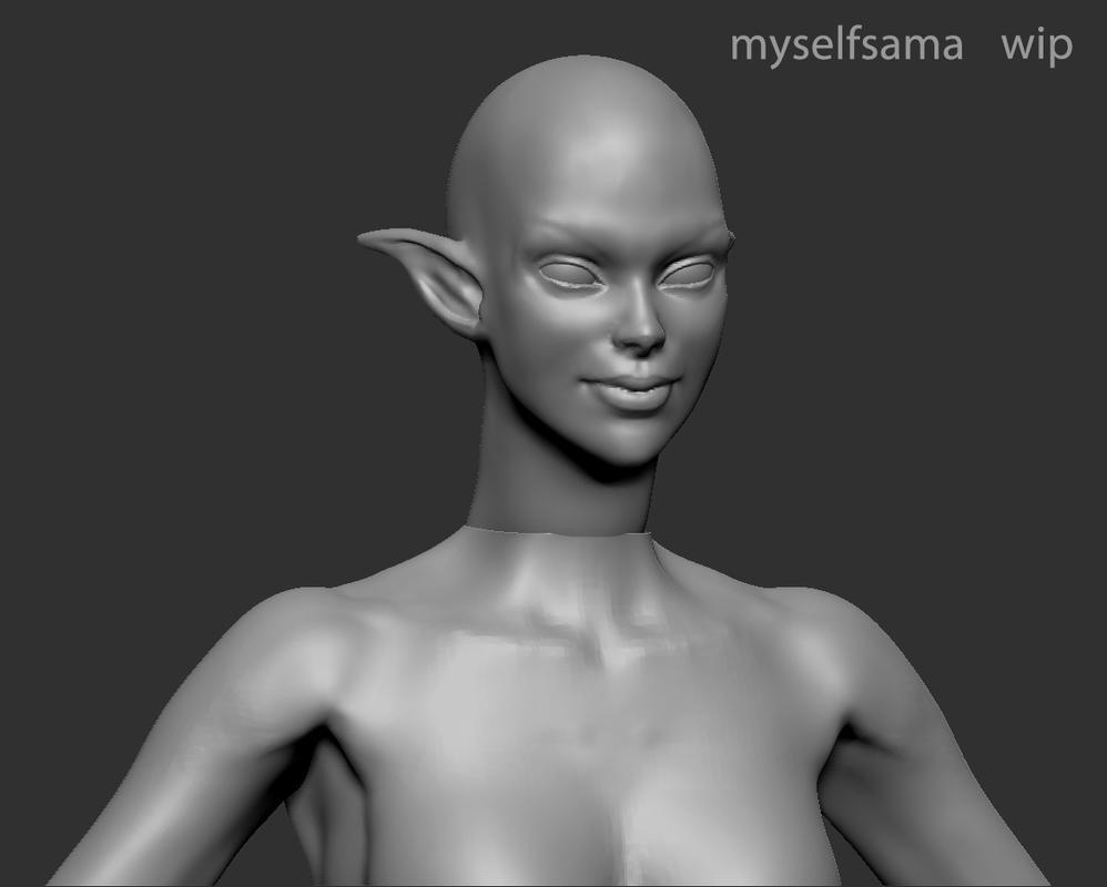 Shiva Wip 2 by Myselfsama