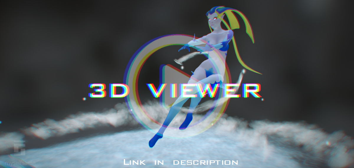 Shiva 3D Turntable by Myselfsama