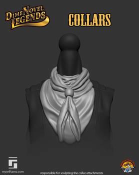 Dime Novel Legends Series 1 Collars