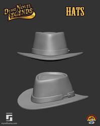 Dime Novel Legends Series Hats