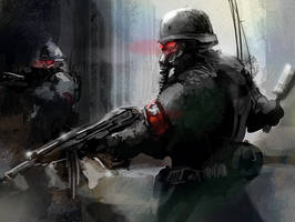 Nazi Soldiers by Eco-Flex