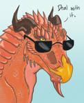 Smug Dragon is Smug