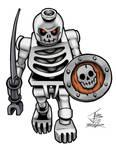 Lego Skeleton Warrior Color