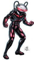Black Manta - color by PrimeOp