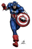 Captain America by PrimeOp