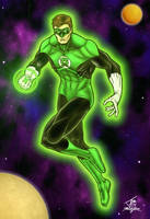 Green Lantern: Hal full pic by PrimeOp