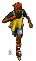 Eddie 'Skate' Hunter by PrimeOp