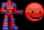 Berzerk Robot and Evil Otto sprites