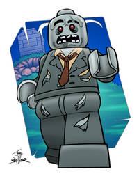 Lego Zombie (CMF series 1) - 2014