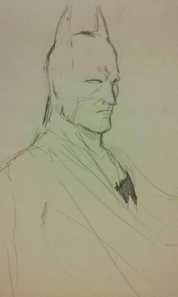 batman sketch by TheYordleGuy