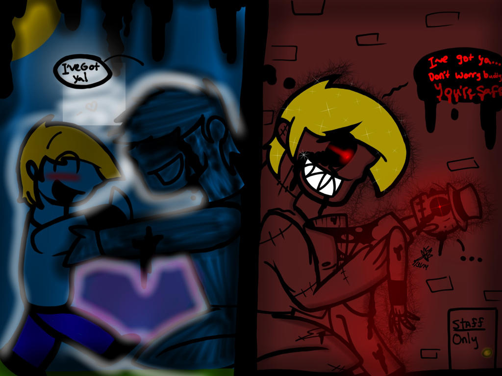Beneath the Metal. (FNaF Halloween Special) by YaoiLover113 on ...
