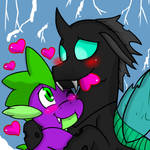 SpoRax (Thorax x Spike: Mlp:FiM)