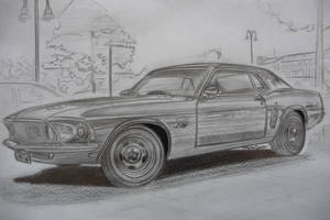 69 Ford Mustang Coupe by theTobs
