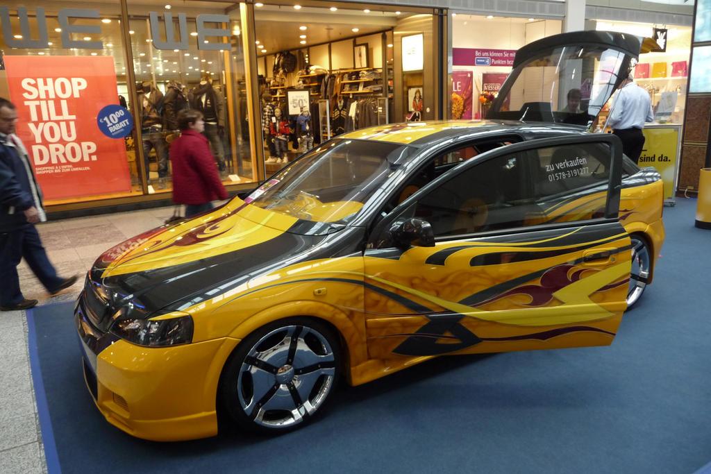 Airbrush Opel Astra 1