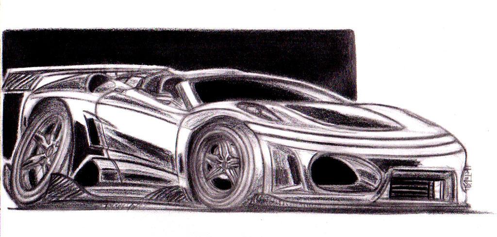 Ferrari F430 Spider Custom TOON by theTobs