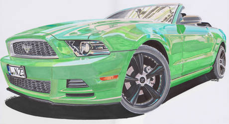 2013 Ford Mustang Cabrio
