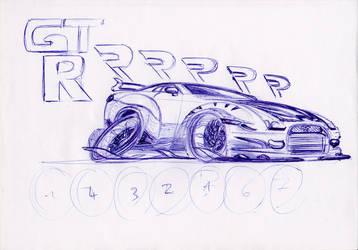 Nissan GTRRRrr