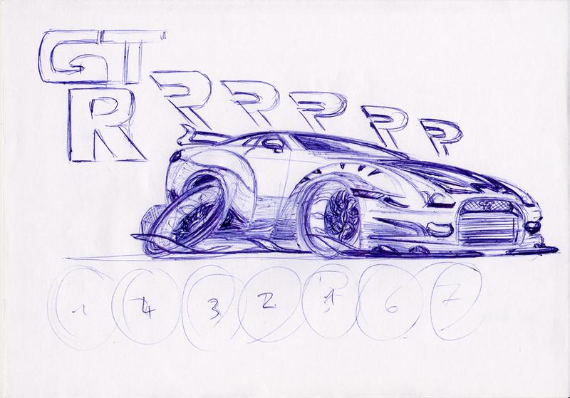 Nissan GTRRRrr by theTobs