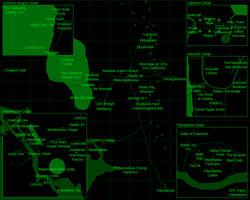 Fallout: Equestria Map by SilentCarto