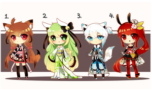 [CLOSED] Adopt Batch 01 by Ruri-Adopts