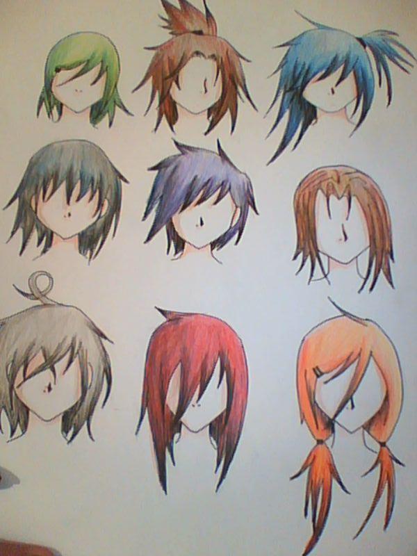Atrevido y bonito peinados anime Fotos de las tendencias de color de pelo - cabello o peinados anime by majo94 on DeviantArt