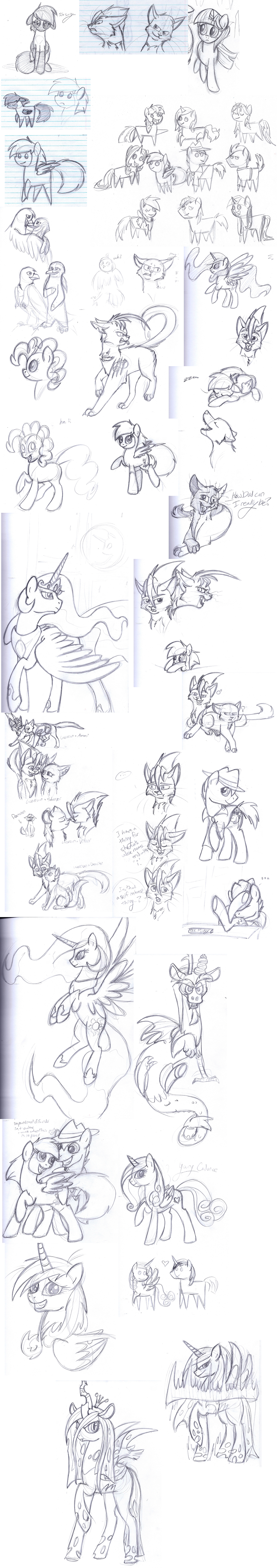 Biweekly School Sketches 16 by TickleMeFrosty
