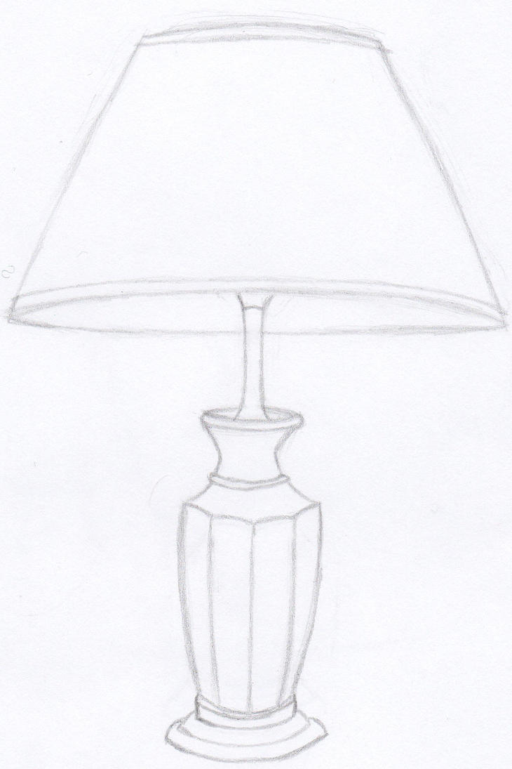 Life Drawing   Lamp By Tayko ...