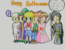 Chibi Halloween Slayers
